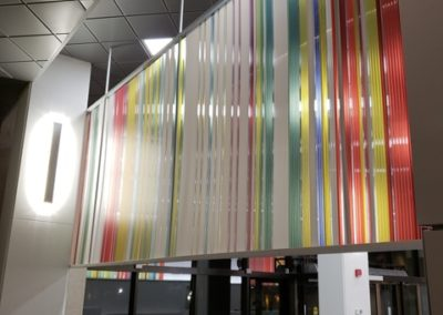 Michener lobby after